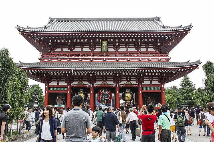 gate to the Senso-ji
