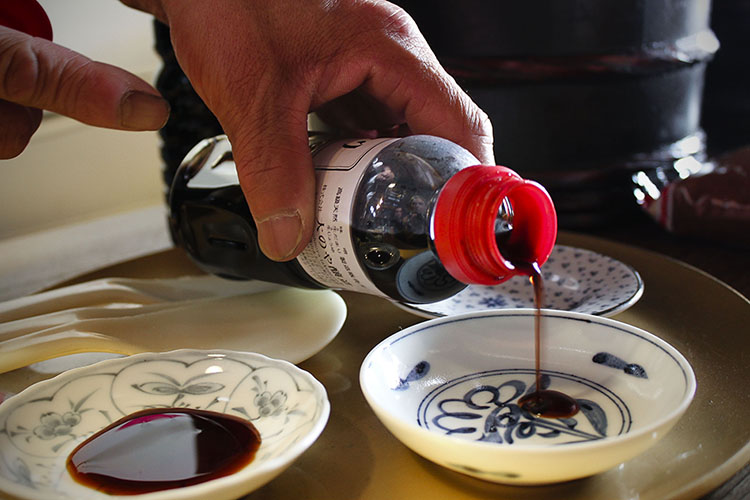 soy sauce tasting