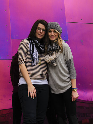 WANDERLUSTers - EMP Museum Purple Wall 2