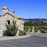 church in napa valley, california.
