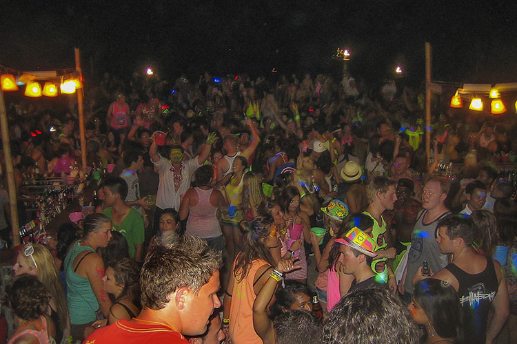 Koh Phangan: Full Moon Party