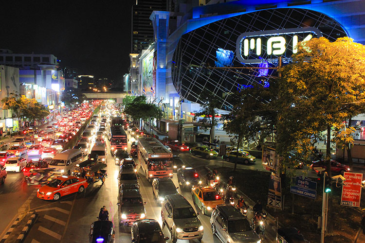 bangkok - siam square (permanent rush hour)