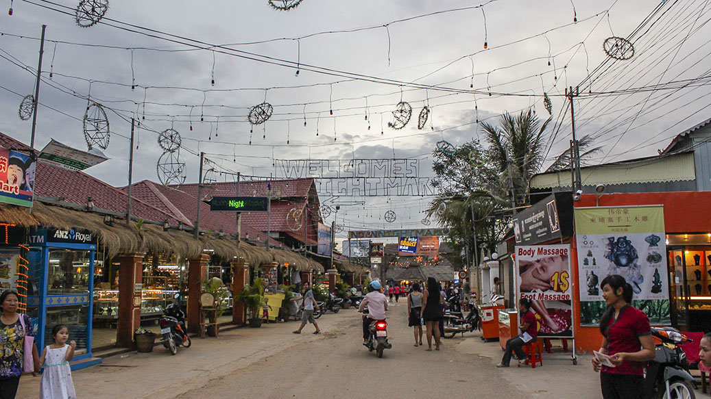 Siem Reap, Cambodia - the night market