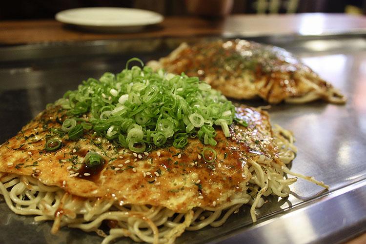 Okonomiyaki: Japanese Pancakes