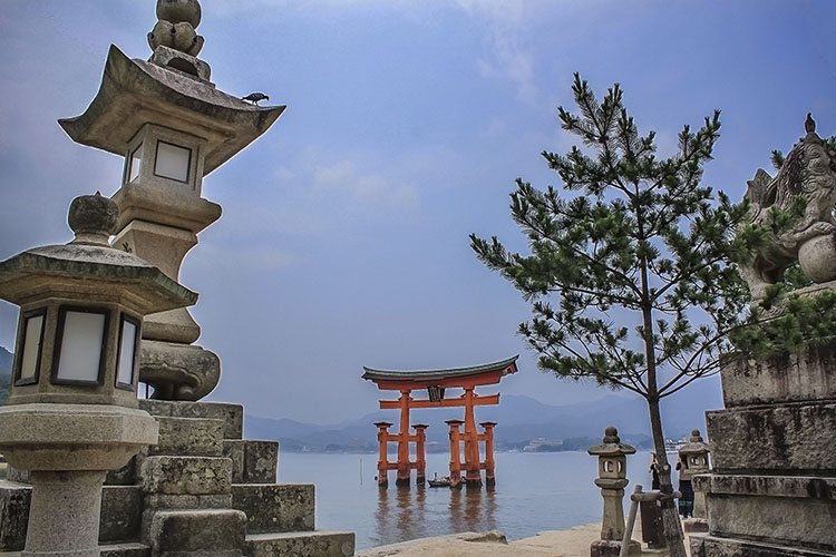 The Japanese Floating Gate: Miyajima