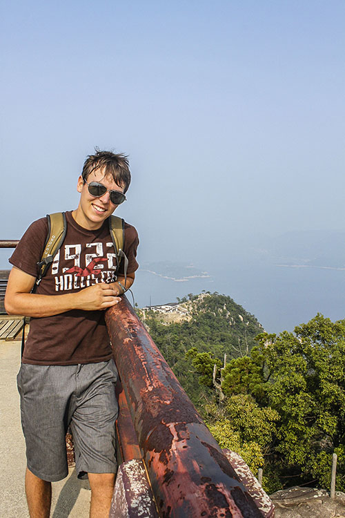 Views from the top of Mt Misen