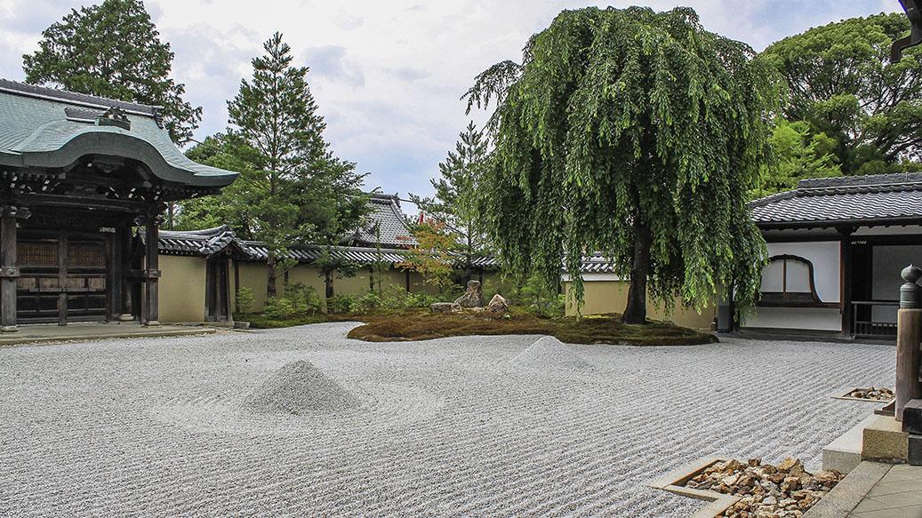 dry gardens of japan
