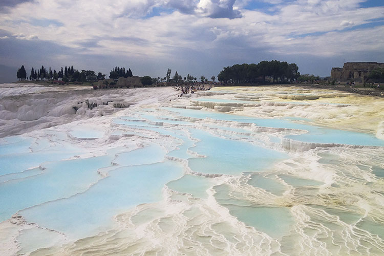 Stunning Pools of Pamukkale in Turkey