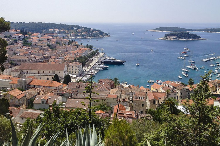 Croatia: How to Board a Yacht in Hvar