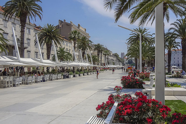 Croatia: Coastal Town of Split