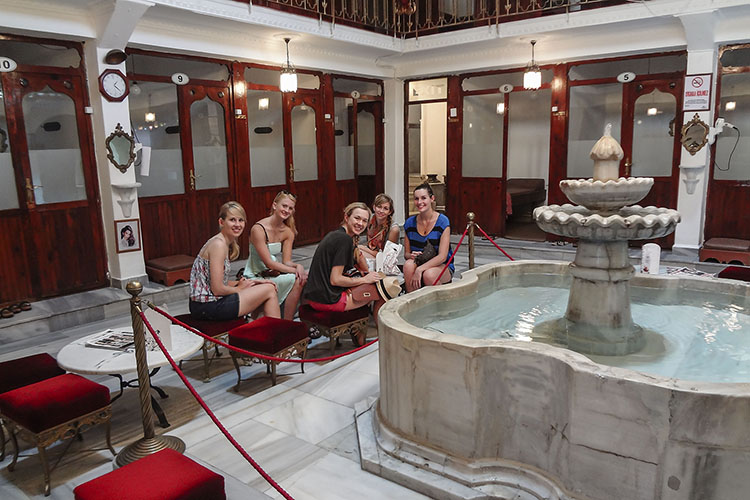 Rubber Duck: Turkish Baths