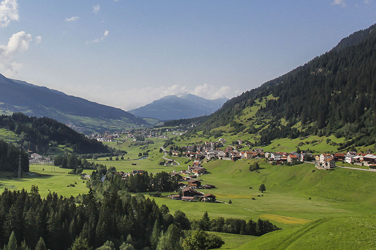 Davos, St. Moritz, and Silvaplana by Road