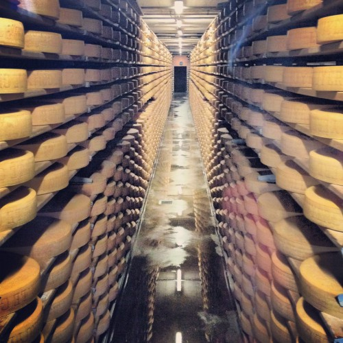 Gruyere Cheese Factory, Switzerland.