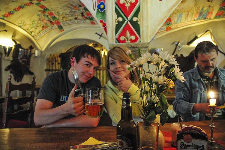 Czech Republic: Dinner in a Castle