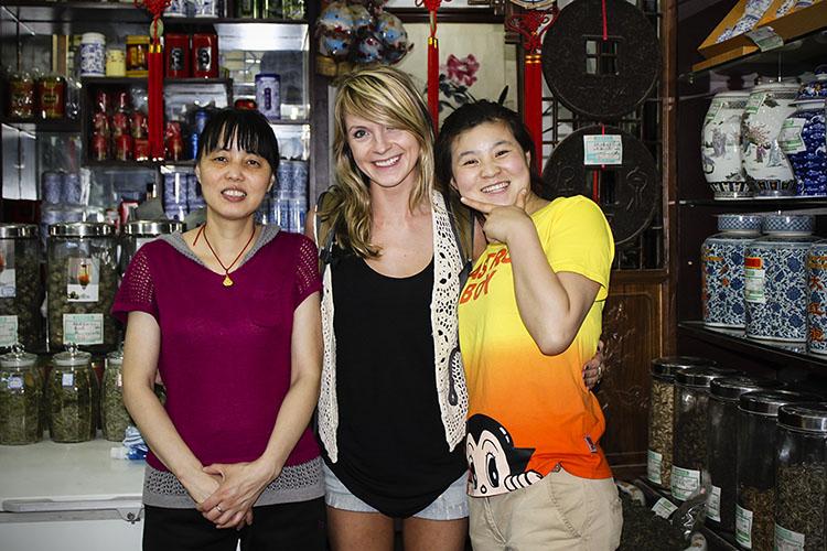 qianmen street - teahouse favorites
