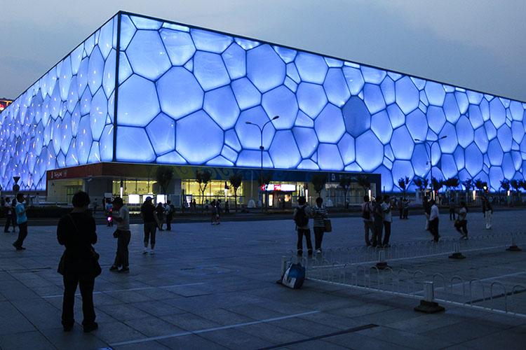 olympics - water cube