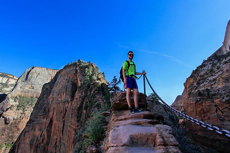 Angels Landing Hike 2 - Zion - Utah - Wanderlusters