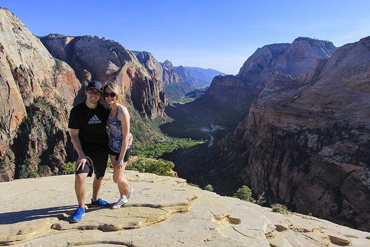Angels Landing Hike 4 - Zion - Utah - Wanderlusters