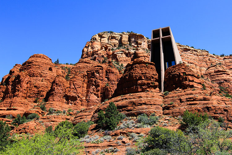 Chapel of the Holy Cross 2 - Sedona - Wanderlusters