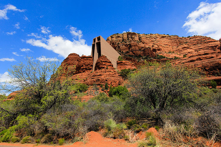 Chapel of the Holy Cross - Sedona - Wanderlusters