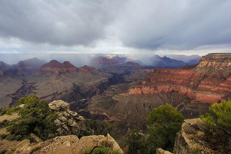 Rainy Day at the Grand Canyon