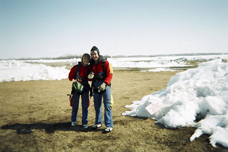 Winter Skydiving 1 - Canada - Wanderlusters