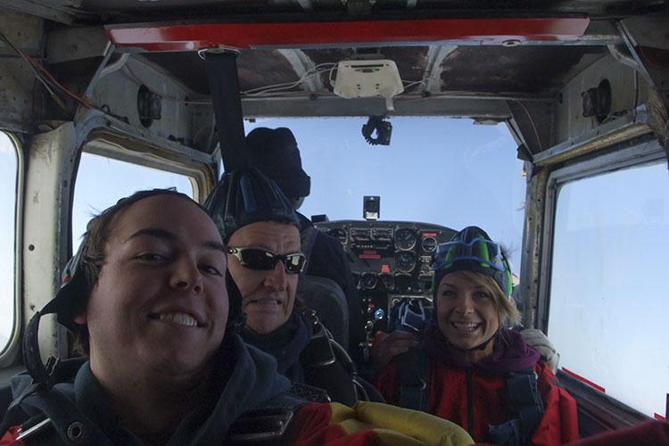 Winter Skydiving 2 - Canada - Wanderlusters