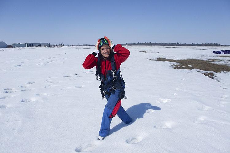 Winter Skydiving 5 - Canada - Wanderlusters