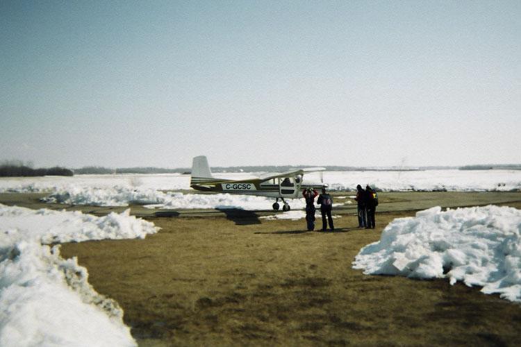 Winter Skydiving - Canada - Wanderlusters