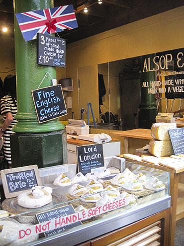 Borough Market Cheese - London England - Wanderlusters