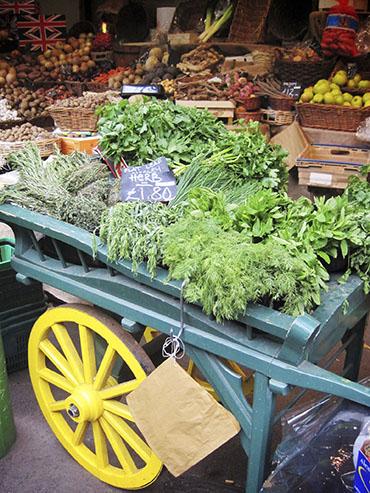 Borough Market Greens - London England - Wanderlusters