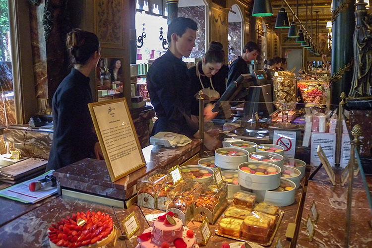 Laduree Macaron Shop - Paris France - Wanderlusters