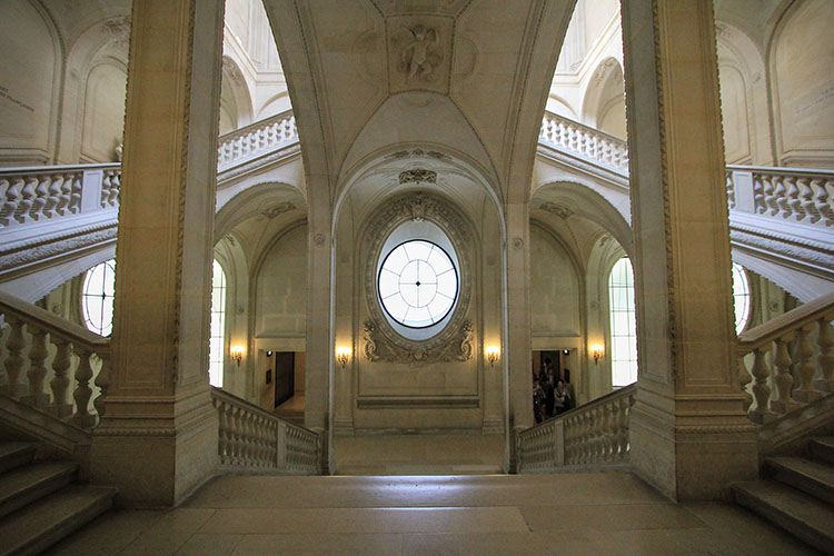 Louvre Staircase - Paris France - Wanderlusters
