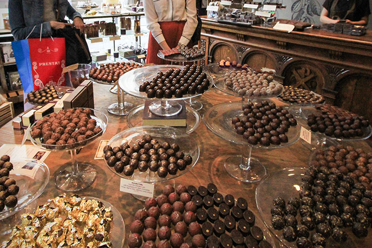 Paul A Young Chocolates - London England - Wanderlusters