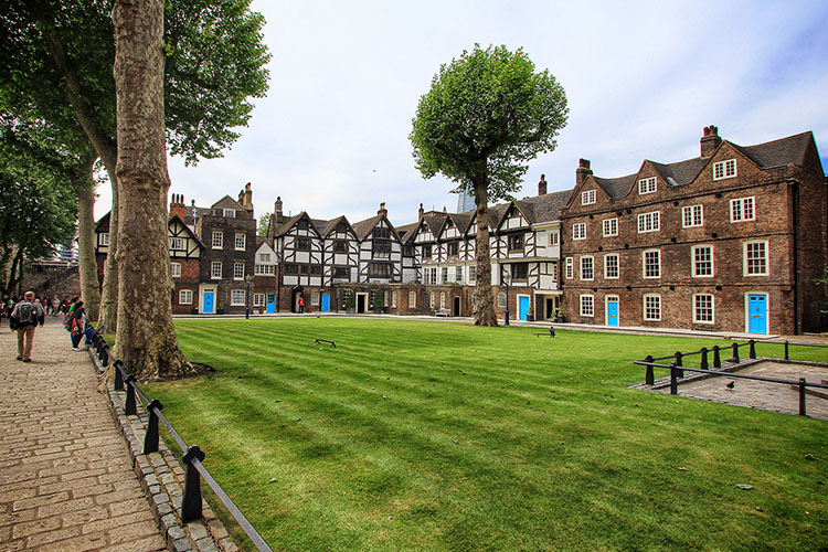 Tower of London Grounds - London England - Wanderlusters