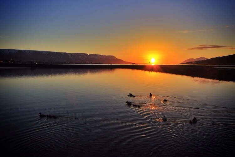 Iceland: Skinny Dipping in the Midnight Sun