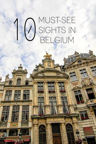 Belgium Must-See Travel Sights - Wanderlusters (736x1100)