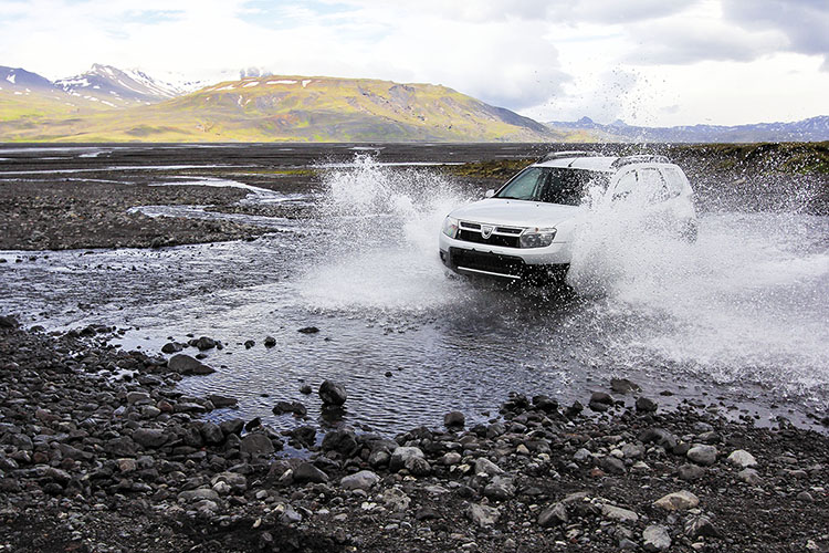 Iceland: Crossing Rivers in Thorsmork