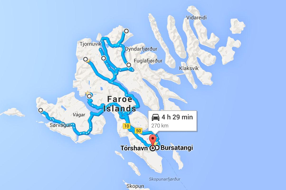 FaroeMap
