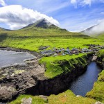 Wanderlusters - Faroe Islands Postcards - Gjogv