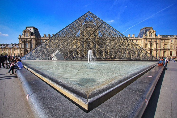Wanderlusters - Paris Postcards - Louvre