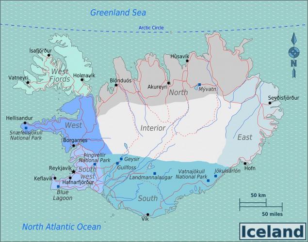 Iceland-Regions-Map (Wikipedia)