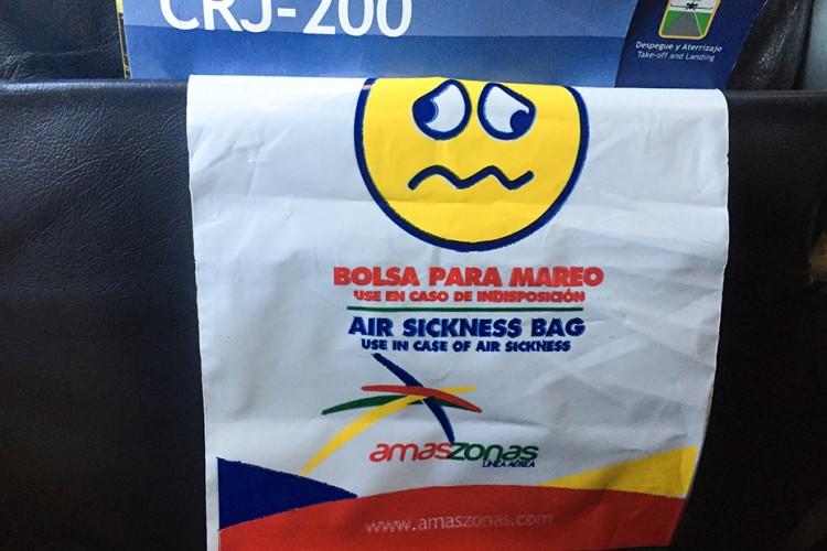 Amaszonas Air Sickness - Wanderlusters