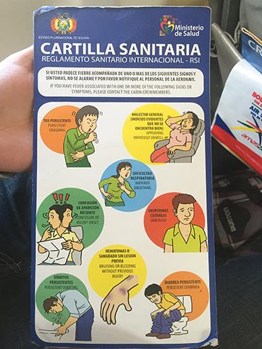 Amaszonas Ebola Card - Bolivia - Wanderlusters