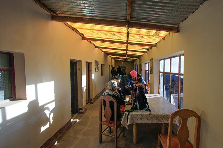 Bolivia Salt Flats Tour Accommodation Dining Area - Wanderlusters