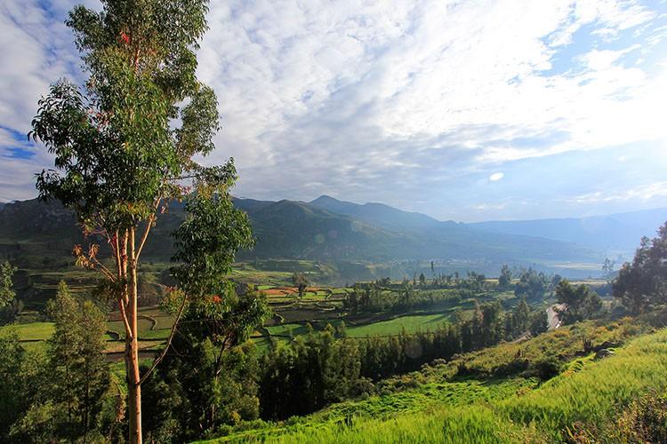 Chivay Village View Colca Canyon - Peru - Wanderlusters