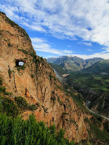 Colca Canyon Tunnel - Peru - Wanderlusters
