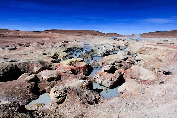 Geysers - Bolivia Salt Flats Tour - Wanderlusters