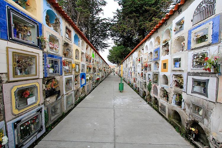 La Paz Cemetery Rows - Bolivia - Wanderlusters