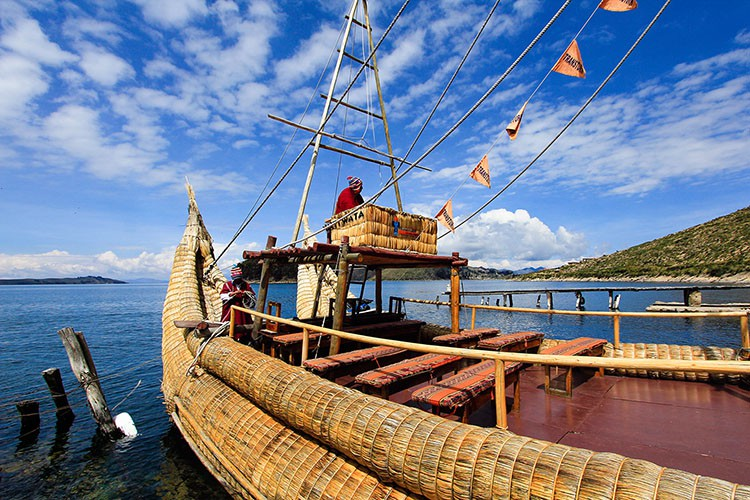 Lake Titicaca Reed Boat - Bolivia - Wanderlusters